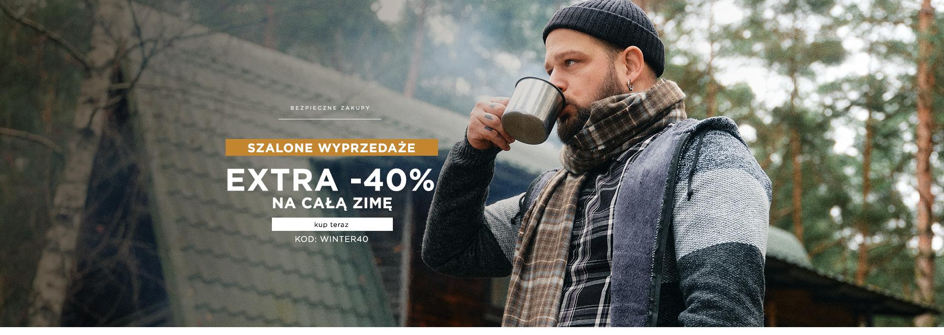 Extra -40% na całą zimę