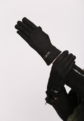 Czarne Rękawiczki Admirable