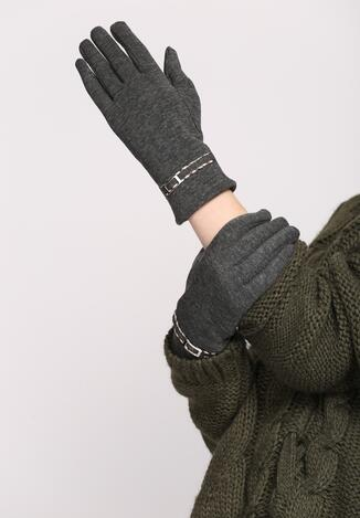Ciemnoszare Rękawiczki Invisible