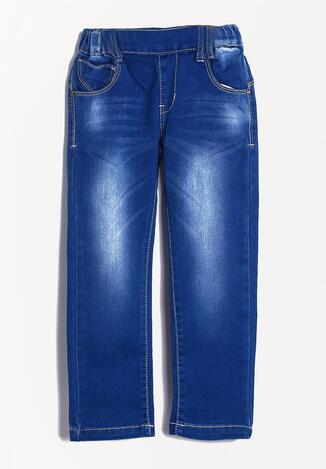 Niebieskie Jeansy Hoo-Ha