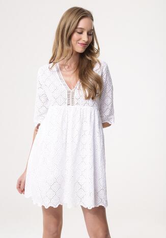 3d52a05787 Biała Sukienka Like Fully