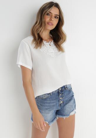 Biała Bluzka Be Independent