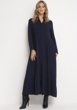 Granatowa Sukienka Controllable