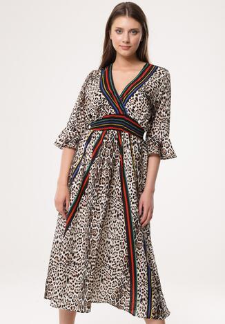Beżowa Sukienka Nonrealistic