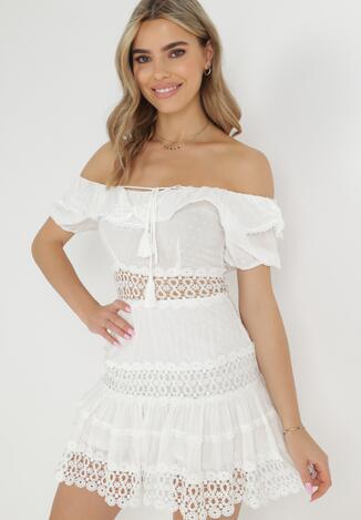 Biała Sukienka European