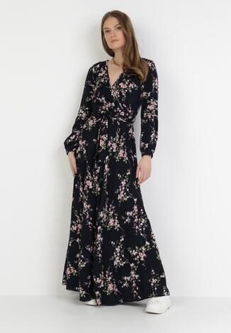 Granatowa Sukienka Brimfull