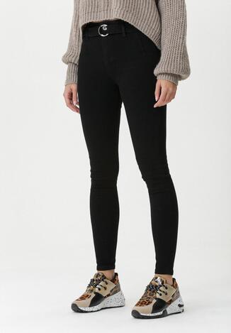 Czarne Spodnie Langsett