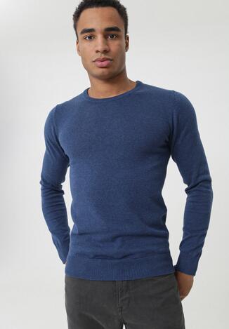 Ciemnoniebieski Sweter Carole