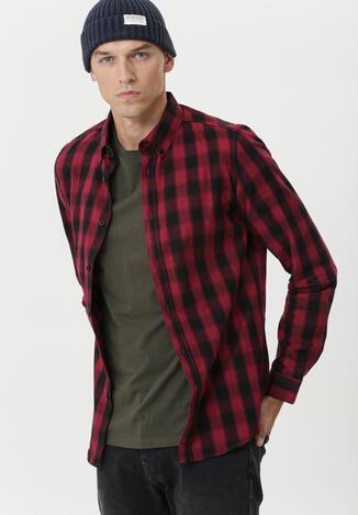 Bordowa Koszula Deagon