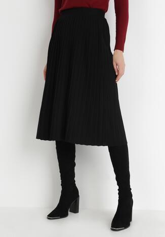 Czarna Spódnica Moulden