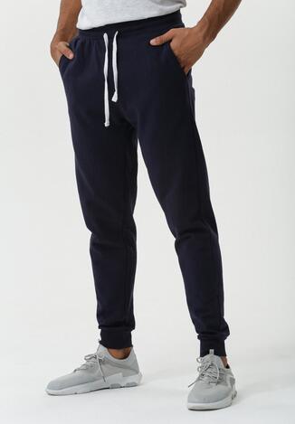 Granatowe Spodnie Kenilworth