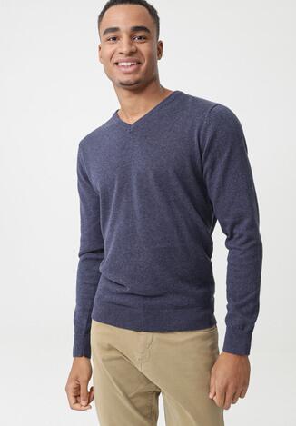 Niebieski Sweter Aldridge