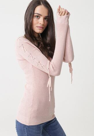 Różowy Sweter Seagoville