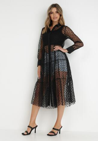 Czarna Sukienka Muir