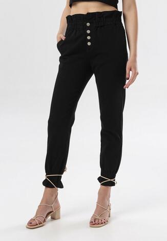 Czarne Spodnie Celestia