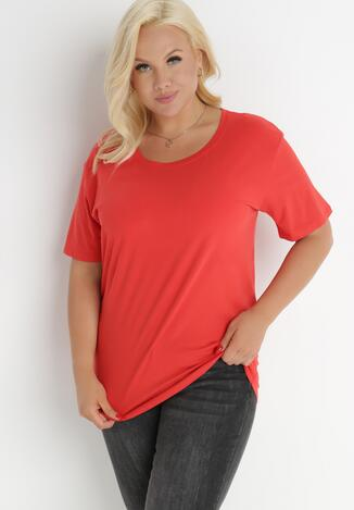 Czerwony T-shirt Aetheriel