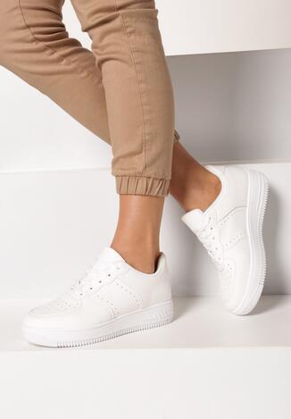 Białe Sneakersy Anatune