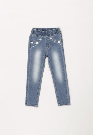 Niebieskie Spodnie Lorailila