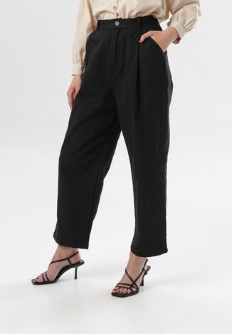 Czarne Spodnie Dorymene