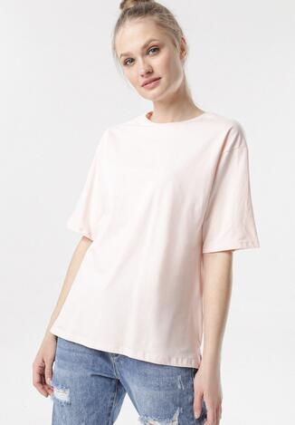 Jasnoróżowy T-shirt Crialacia