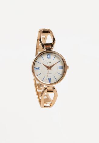 Złoto-Niebieski Zegarek Yisroel