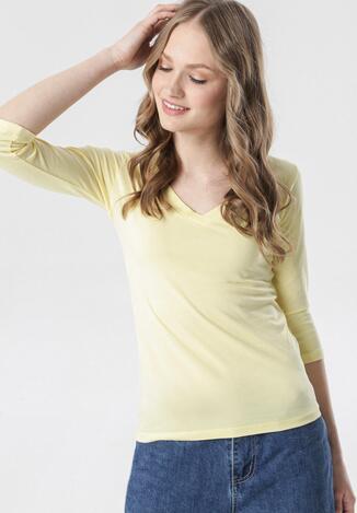 Żółta Bluzka Dorealee