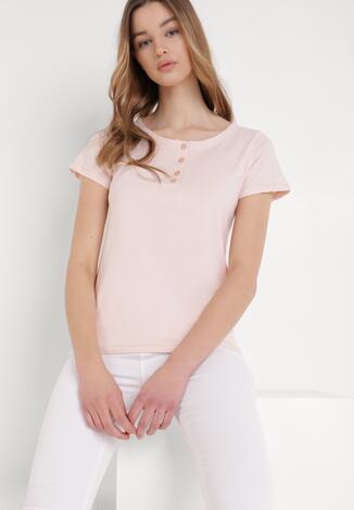 Jasnoróżowy T-shirt Oranore
