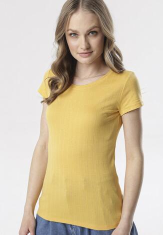 Żółty T-shirt Chenelin