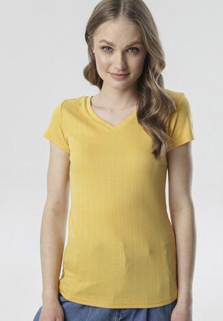 Żółty T-shirt Anarah