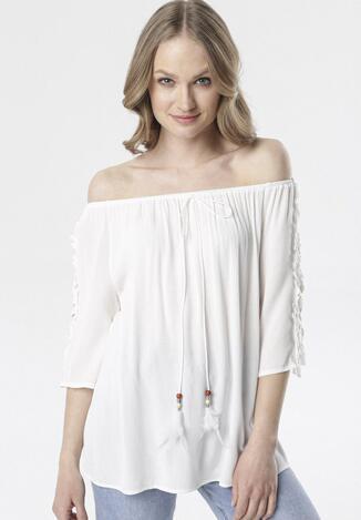 Biała Bluzka Clarope