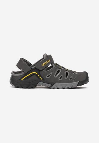 Szaro-Żółte Sandały Memei