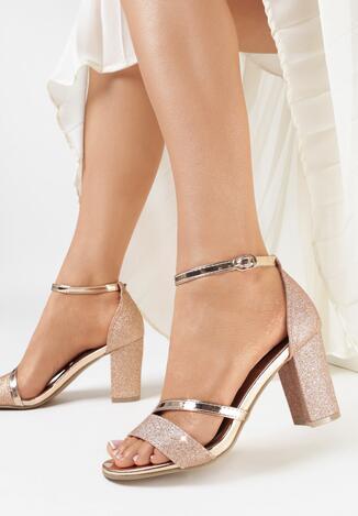 Szampańskie Sandały Kleonoire