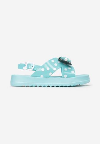 Niebieskie Sandały Pereinohre