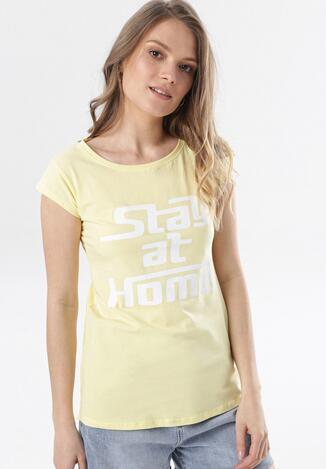 Żółty T-shirt Noelori