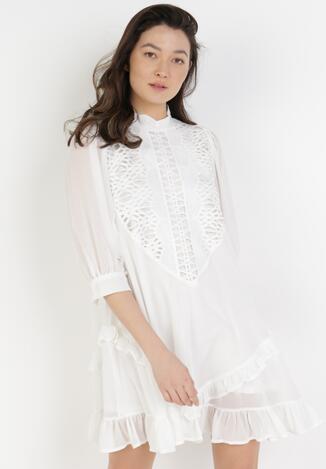 Biała Sukienka Adrarissa