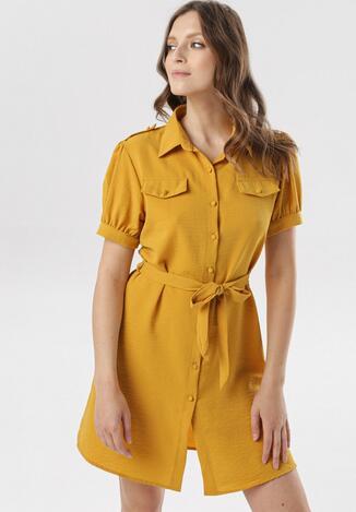 Żółta Sukienka Therisa
