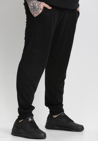 Czarne Spodnie Corramere