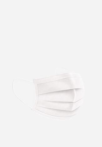 Białe Maseczki Jednorazowego Użytku 5-pack