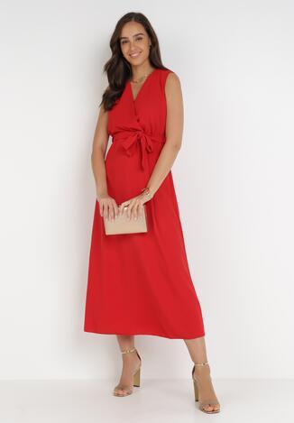Czerwona Sukienka Ocearith