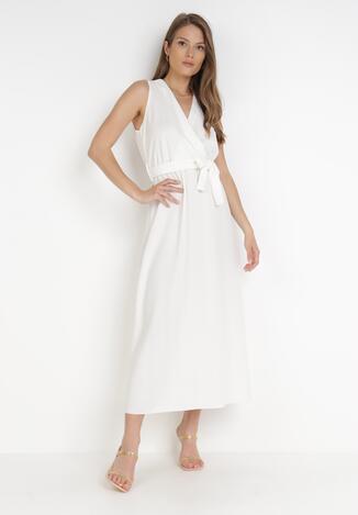 Biała Sukienka Ocearith