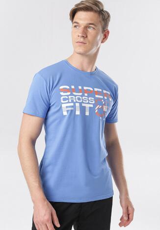 Niebieska Koszulka Corithera