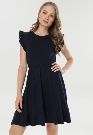 Granatowa Sukienka Olemelle