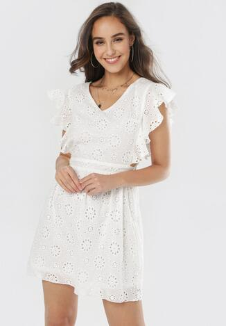 Biała Sukienka Peithea