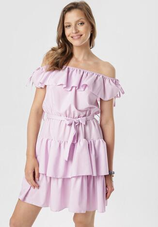 Jasnofioletowa Sukienka Neritina