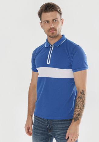 Niebieska Koszulka Diolori