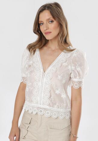 Biała Bluzka Dorimelle