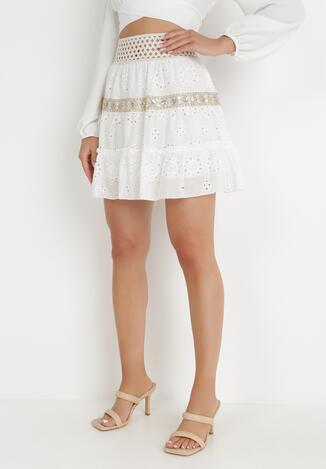 Biała Spódnica Loraelle