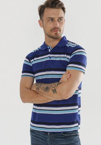 Ciemnoniebieska Koszulka Echiphine
