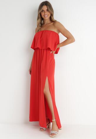 Czerwona Sukienka Callalila