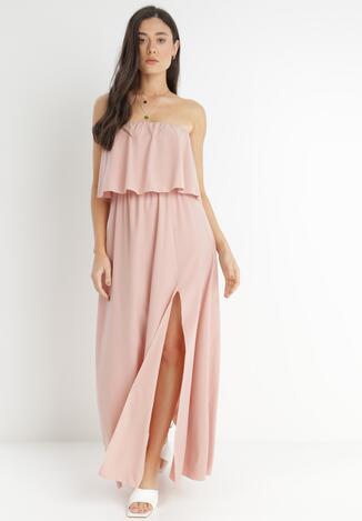 Ciemnoróżowa Sukienka Callalila